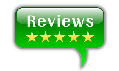 Reviews button with stars