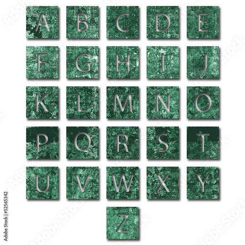 Unique alphabet set