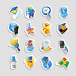 Icons for technology and interface