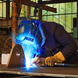 Fototapety welder at work