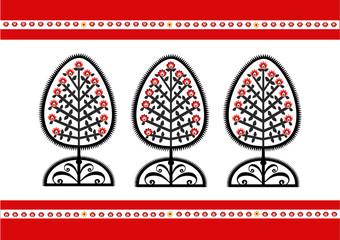 Polska kartka ludowa