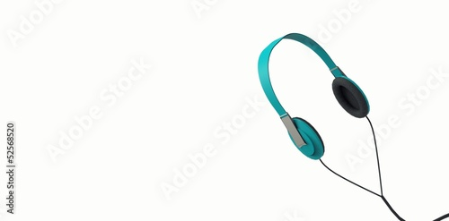 Audifonos Color Azul - Headphones - Auricular