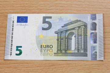 Neuer 5 Euro Schein