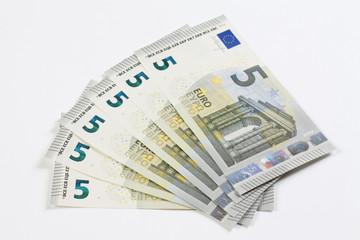 Neue 5 Euro Scheine