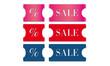 Sale Etiketten Preisschilder Rabatt