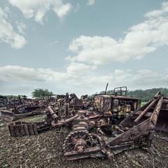 agricultural graveyard
