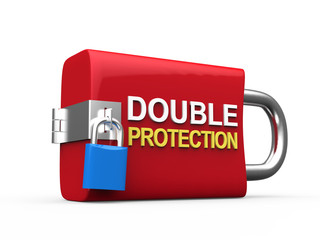 Double Protection Padlock