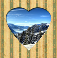 Vintage Heart - Alpen