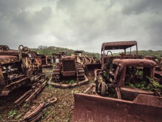 vehicle graveyard