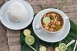 Постер, плакат: Тайский суп Том Ям Tom yum