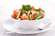tomato,cucumber and onion salad