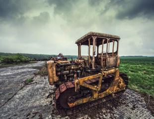 heavy scrap machinery