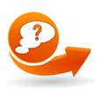 question sur bouton web orange