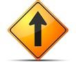 Forward way sign