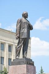 Памятник Ленину в городе Ставрополе