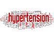 hypertension (blood, pressure, heart, tagcloud)