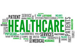 Healthcare (Health care, patient, medical, service; tag cloud)