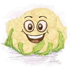 happy cauliflower