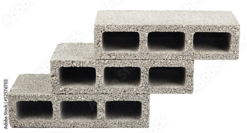 Isolated Construction Blocks - Three