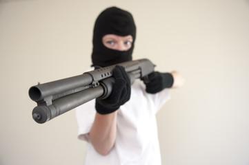 Armed assault attacker
