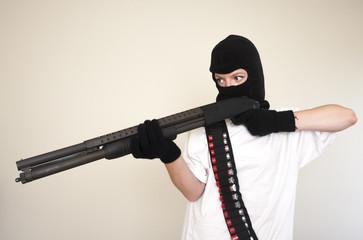 armed attacker