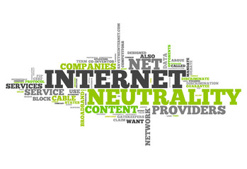 "Word Cloud ""Internet Neutrality"""