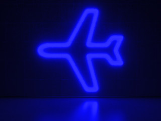 Airplane - Series Neon Signs