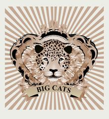 Vintage Illustration - Jaguar