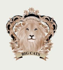Vintage Illustration - Lion