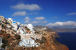 Oia village in Santorini, Greek island