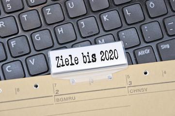 ziele bis 2020