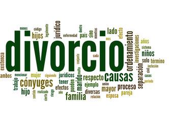 divorcio (divorciado, separación, abogado; tag cloud)