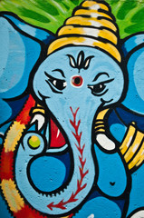 graffiti ganesh