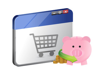 shopping with online savings