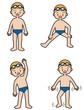 水泳準備体操(男子)