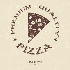 premium pizza vintage