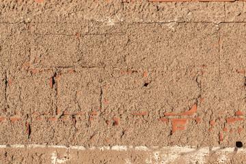 Old brick  stone wall