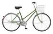 Leinwandbild Motiv 自転車シティサイクル