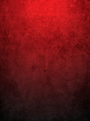 Red grungy wall