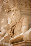 The Moses by Michelangelo poster