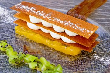 Dessert mille feuille