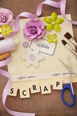 scrapbook materials