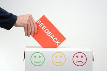Feedback - Ihre Meinung ist gefragt!