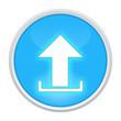 upload icon light blue circle