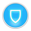 protect icon light blue circle