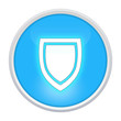 security icon light blue circle