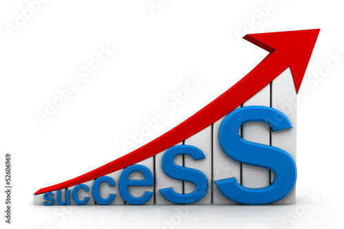 success graph.