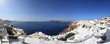 Panorama of Santorini island, Greece