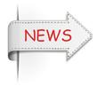 Schild Pfeil News