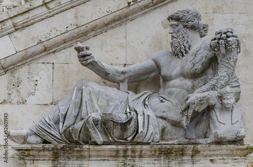 Roma, Campidoglio, statua del Nilo